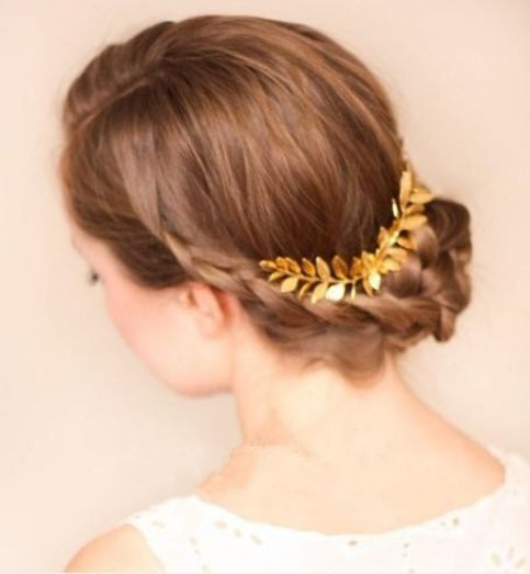 Hairpiece hair p 8033 gold 2 headpin